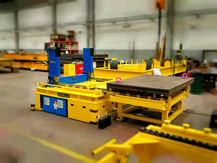 die cart agv -automated guided cart 7t