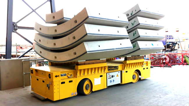 Precast electric transporter – 60 t